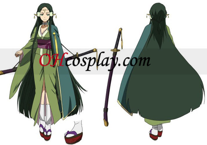 Sword Art Online (on-line) ALfheim Sakuya Cosplay Traje