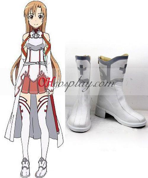 Sword Art Online Asuna Yuuki Cosplay Calçados