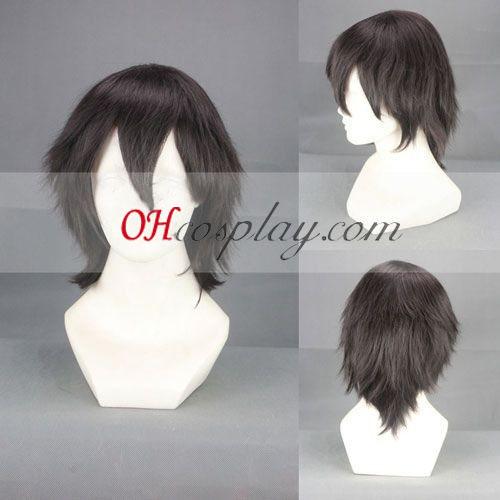 Sword Art Online Kirito Cosplay peruca Preta
