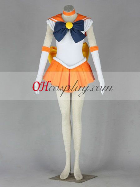 Minako Aino Sailor Moon (Sailor Venus) Costume de Costume Carnaval Cosplay