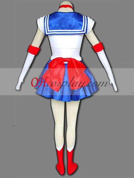 Sailor Moon Usagi Tsukino (Sailor Moon) udklædning Kostume