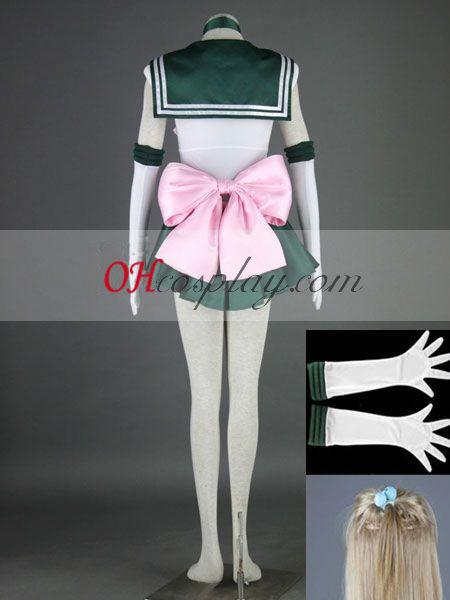 Sailor Moon Makoto Kino (Sailor Jupiter) udklædning Kostume