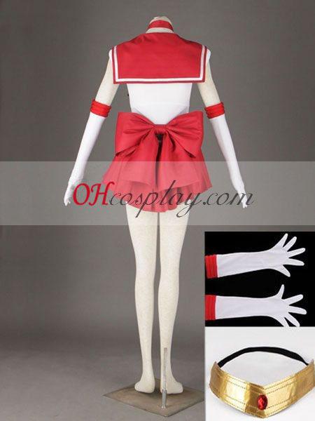 Sailor Moon Rei Hino (Sailor Mars) udklædning Kostume