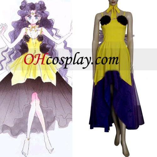 Sailor Moon Luna Costume Carnaval Cosplay forme humaine Costume