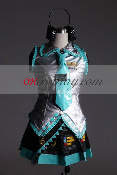 Vocaloid Miku Cosplay Costume-Advanced Personalizado