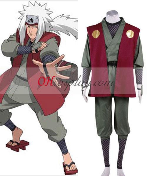 Naruto Shippuuden Jiraiya Cosplay костюм
