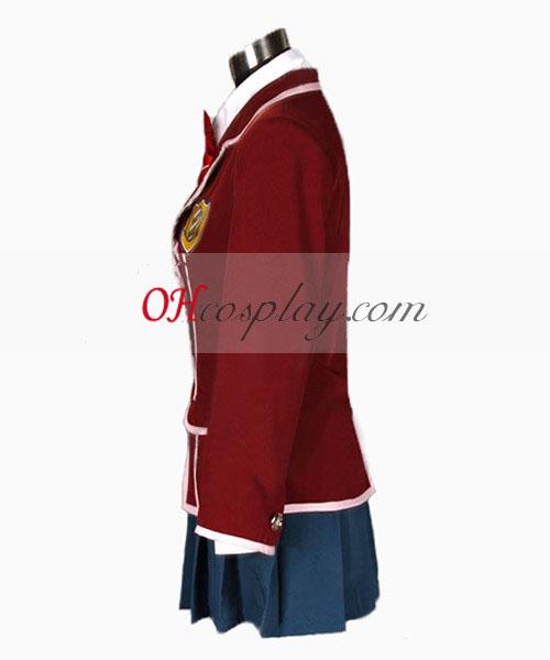 אשם קראון inori yuzuriha קוספליי תלבושות תלבושת אחידה