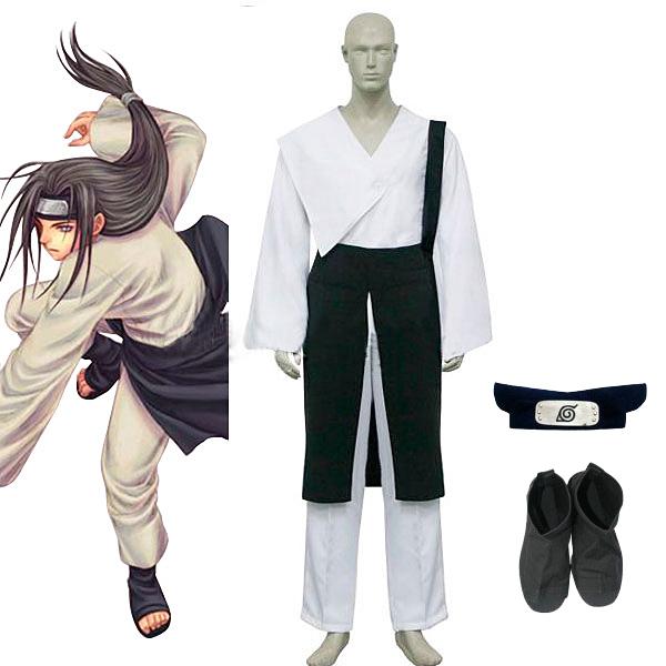 Naruto Shippuuden Hyuga Neji Cosplay Costume