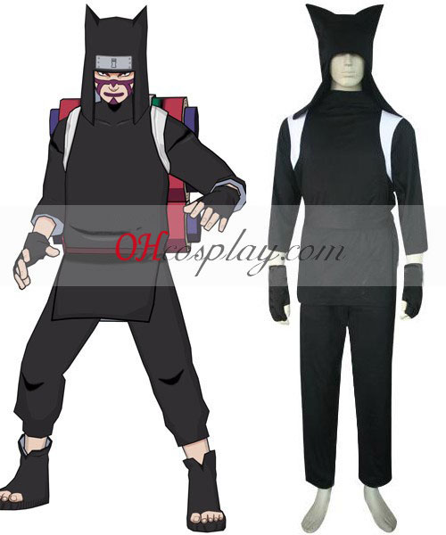 Naruto Shippuuden Kankuro Cosplay Kostym Set
