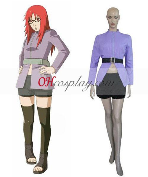 Naruto Shippuuden Karin Cosplay Traje Definido