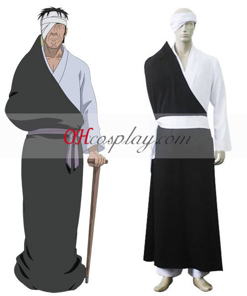 Naruto Shippuuden Danzo Sharingan Konoha Anbu Cosplay kostumov