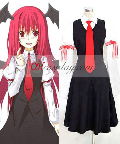 Touhou Project Little Devil cosplay traje
