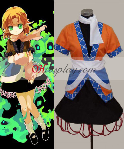 Touhou Project Mizuhashi Analizzare Costumi Carnevale Cosplay