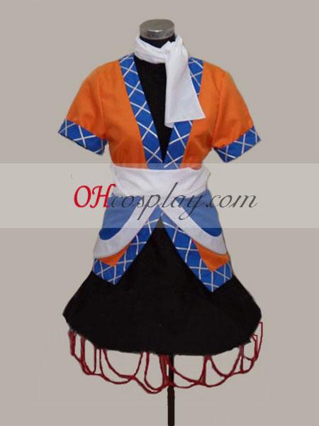 Touhou проект Mizuhashi бъдат разчетени cosplay костюм