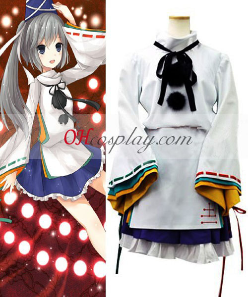 Touhou Project Mononobe no futo cosplay traje