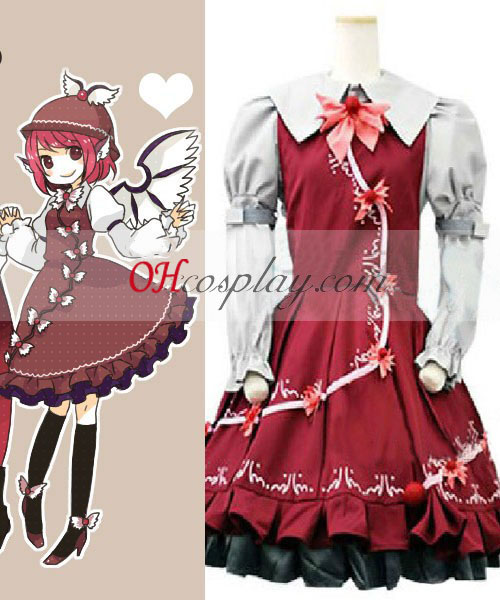 Touhou Project Mystia Lorelei cosplay traje
