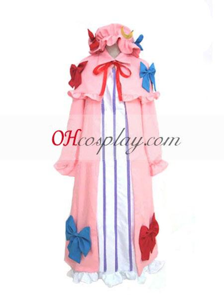 Touhou проект Patchouli знания cosplay костюм
