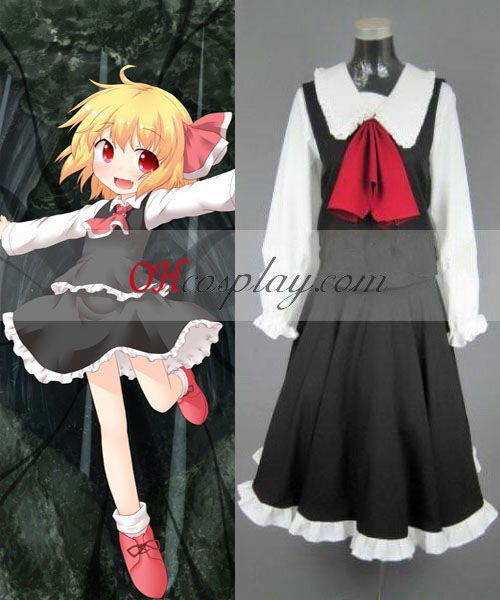 Touhou Project Rumia cosplay traje
