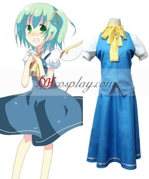 Touhou Project Daiyousei cosplay traje