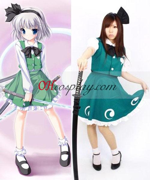 Touhou Project Ghost Youm Konpaku udklædning Kostume