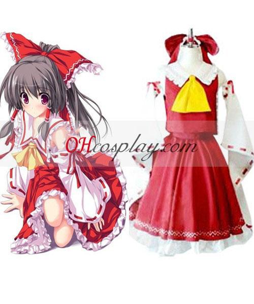 Touhou Project Psychic Hakurei Reimu Cosplay Costume