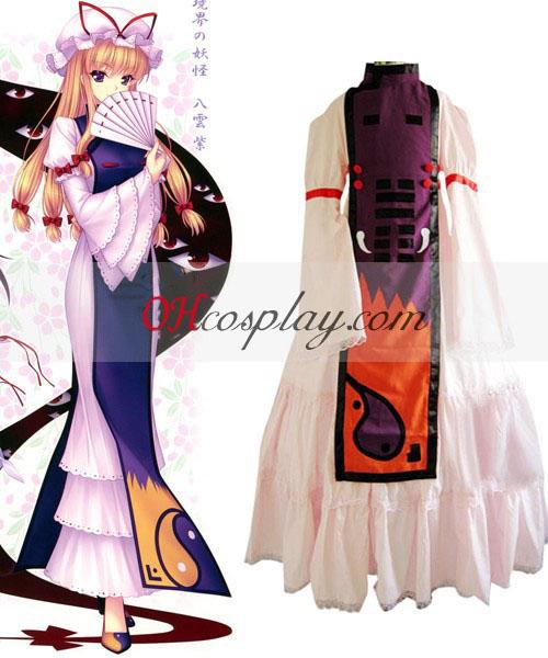 Bogie Touhou Project Yukari Yakumo udklædning Kostume