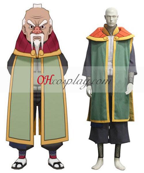 Naruto Shippuuden 3° Tsuchikage Onogi Costumi Carnevale Cosplay
