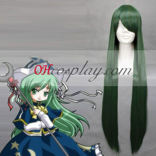 Touhou Project Mima Dark Green Cosplay Wig