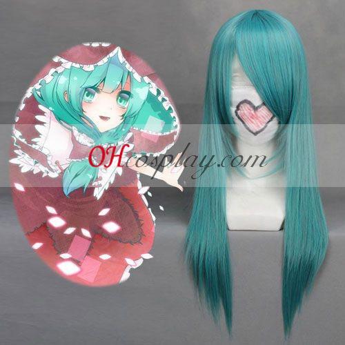 Touhou Project Kagiyama Hina Cyan Cosplay Wig