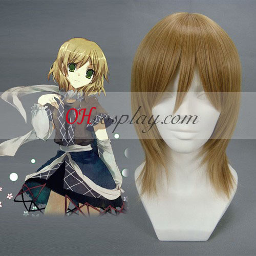 Touhou Project Mizuhashi Parsee Dark Brown Cosplay Pruik