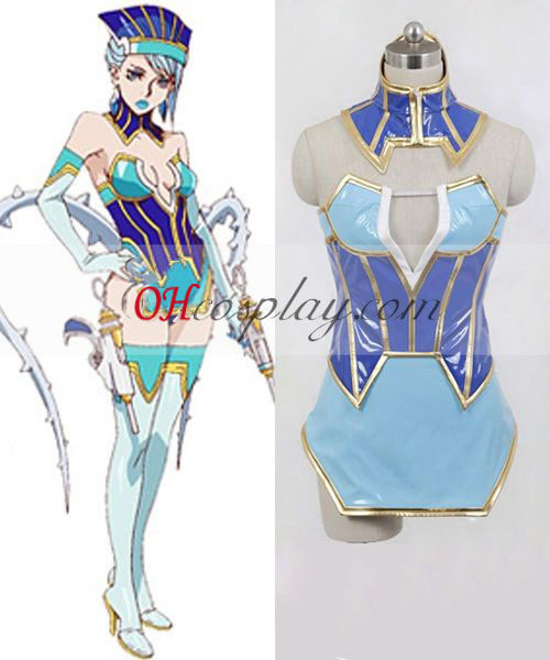 Tiger & Bunny Blue Rose Cosplay Costume Australia