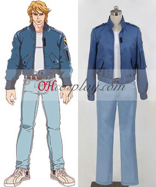 Tiger & Bunny Keith Goodman Cosplay Costume