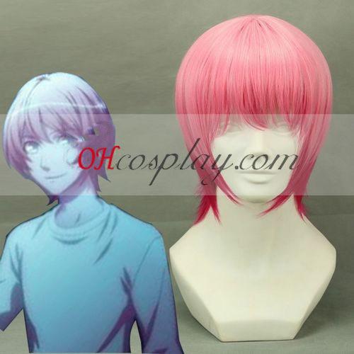 Uta no Prince-sama Ringo Tsukimiya(Macho) Cosplay peruca Rosa