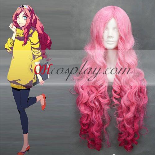 UTA ingen Prince-sama Ringo Tsukimiya Pink Wave udklædning Paryk