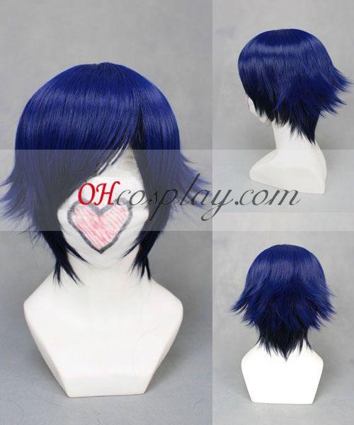 Компания Uta № принц-sama Tokiya Ichinose тъмносиньо Cosplay Wig