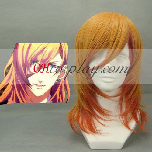 Uta big evening meal Prince-sama Ren Jinguuji Yellow Cosplay Wig