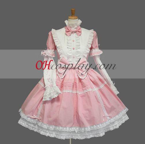 Розово готските Лолита рокля