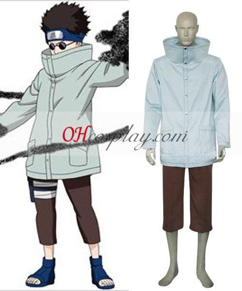 Naruto Aburame Shino 1er Costume Carnaval Cosplay