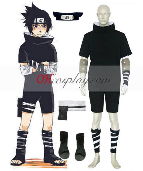 Uchiha Sasuke Naruto öltözékét Cosplay 1.