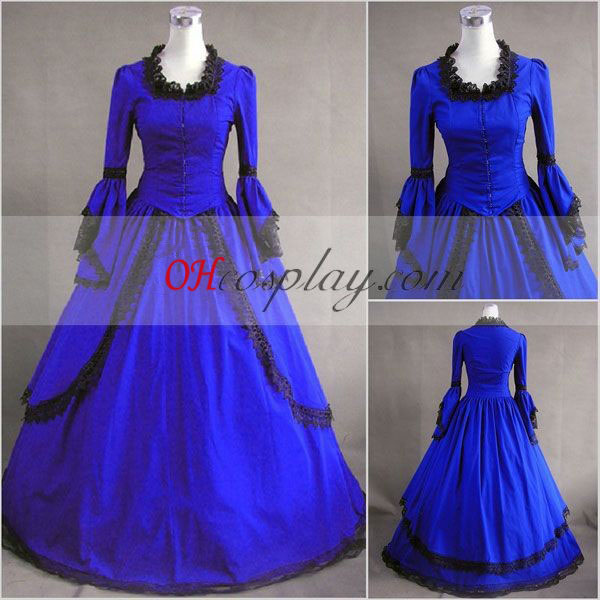Mazarine Lange mouwen Gothic Lolita jurk