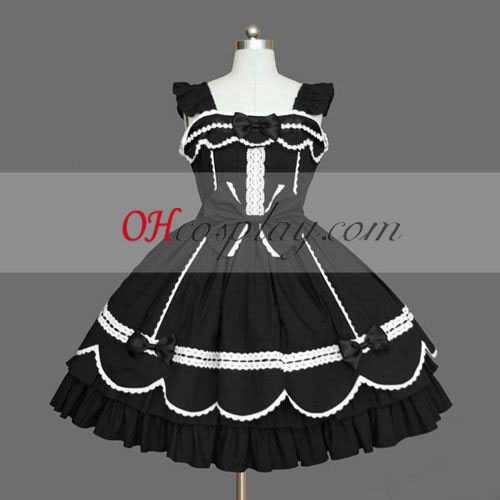 Black Gothic Lolita Dress Online Discount