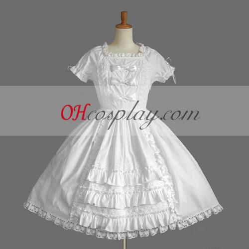 Gótica Lolita vestido branco