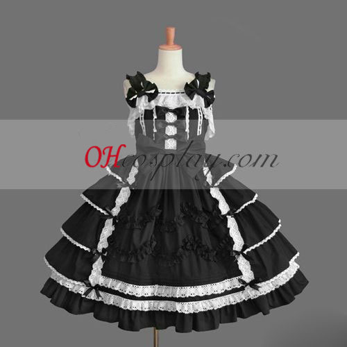 Black Gothic Lolita Dress Best Quality