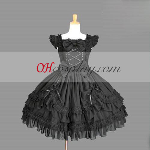 Black Gothic Lolita Dress Gowns Online