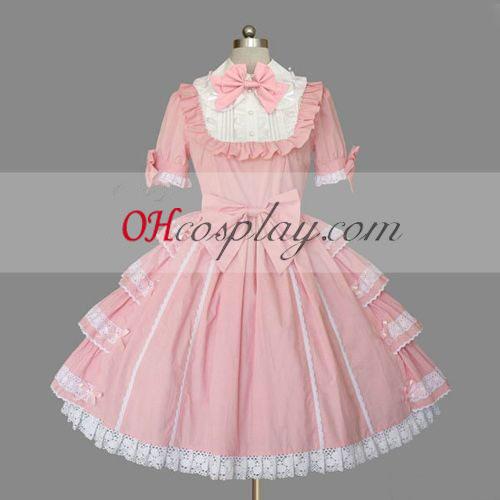 Pink Gothic Lolita Dress