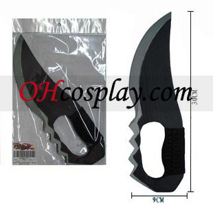 נארוטו קוספליי asuma אביזרים של חרב עץ בעבודת יד