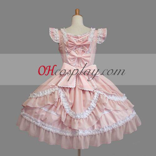 الوردي اللباس القوطية لوليتا