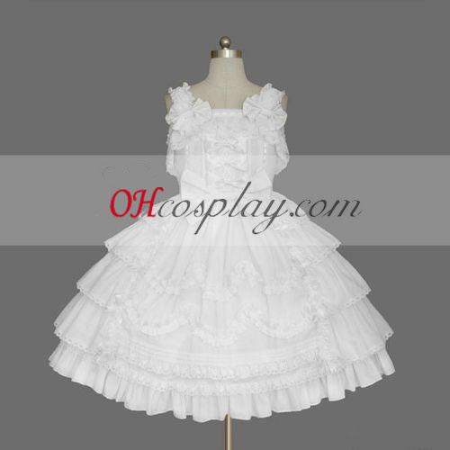 Fehér Gothic Lolita öltözet