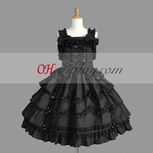 Black Gothic Lolita Dress Discount Gowns