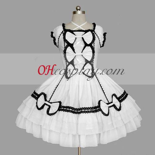 White Gothic Lolita Dress Online Gowns
